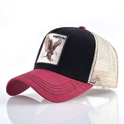 Gorra de béisbol de Malla de Oso Bordado Animal Sombrero para el...