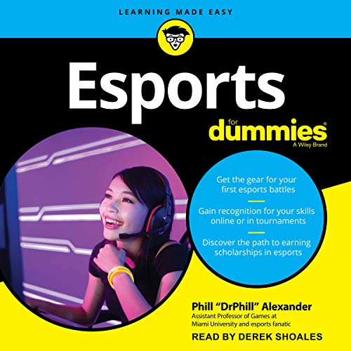 Esports for Dummies audiobook cover art