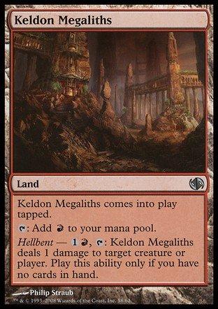 Magic The Gathering - Keldon Megaliths - Duel Decks: Jace vs Chandra