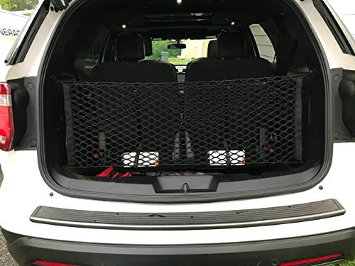 Stretchable Envelope Style Trunk Cargo Net for Ford Explorer 2011-2019