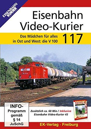 Eisenbahn Video-Kurier 117 - Das Mädchen für alles in Ost und West: die V100