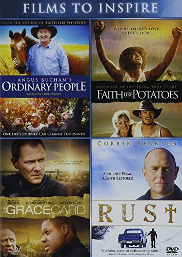 Angus Buchan's Ordinary People / Grace Card, the - Vol / Faith like Potatoes / Rust - Vol - Set