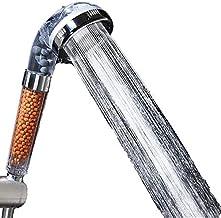 رأس دش محمول باليد ذات الضغط العالي - مع راس دش بفلتر ايوني موفرة للمياه للبشرة والشعر الجاف