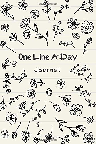 One Line A Day Journal: 5 Year journal & Memory Book, One Sentence A Day Journal