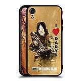Head Case Designs Oficial AMC The Walking Dead Ame La Ballesta De Daryl Tipografía Estuche de Cristal Híbrido Compatible con Apple iPhone XR