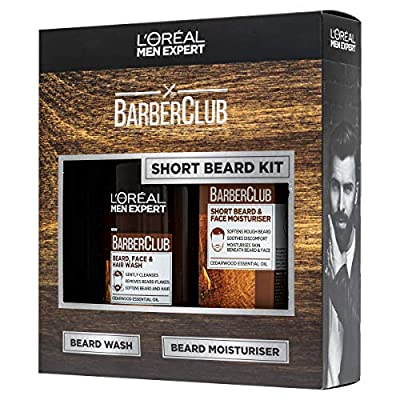 L'Oreal Paris Men's Expert Gift for Him Short Hair Barberclub Collection 2-Piece Gift Set for Him
