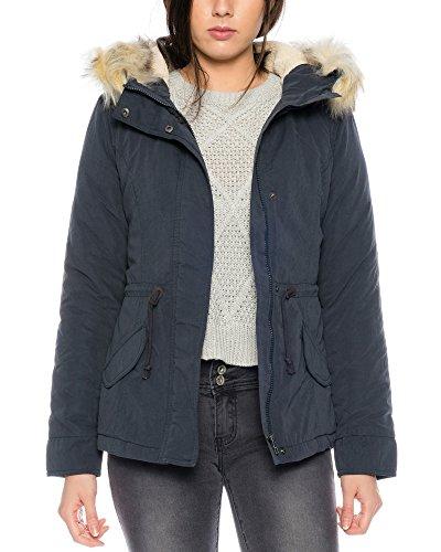 ONLY Damen onlLUCCA SHORT PARKA OTW Jacke, Blau (Blue Graphite), 40 (Herstellergröße: L)