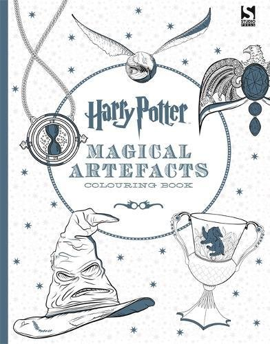 Harry Potter Magical Artefacts Colouring Book 4.