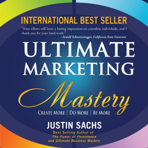 Ultimate Marketing Mastery audiobook cover art