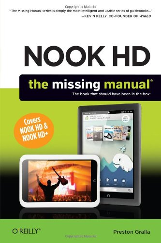 NOOK HD – The Missing Manual 2e