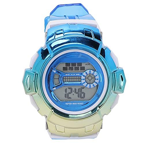 Fournyaa Reloj Digital para Niños, Reloj Digital Deportivo Portátil para Actividades Al Aire Libre para Niños para La Vida Diaria