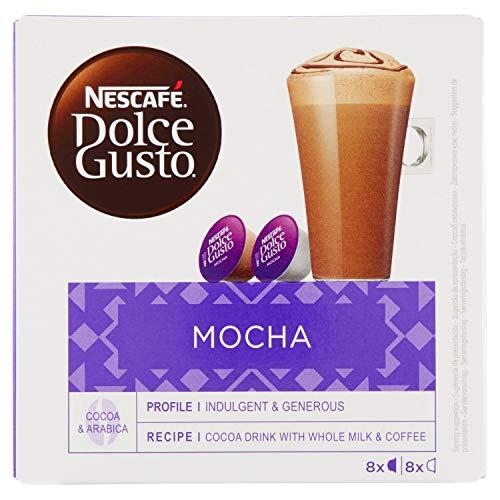 Caffe.com - Nescafè(R) Capsule boissons originales Dolce Gusto Confezione Mocha - 16 capsules