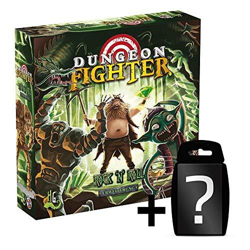 Dungeon Fighter - Rock n Roll - Erweiterung Brettspiel | DEUTSCH | Set inkl. Kartenspiel