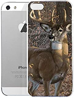 Light weight with strong PC plastic case for Iphone 5/5s Lifestyle Animals Great Eight Whitetail Deer