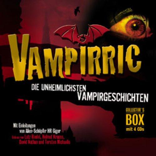 Page de couverture de Vampirric. Die unheimlichsten Vampirgeschichten
