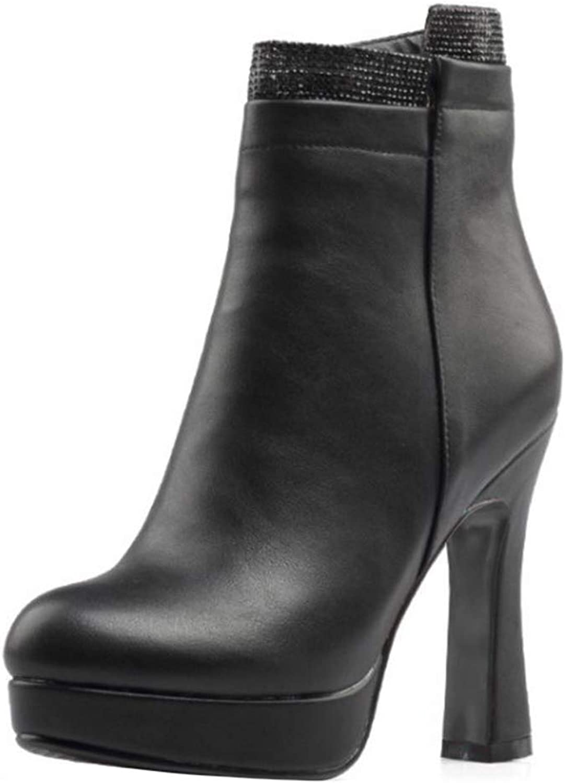 Onewus Women Fashion Lita Boots