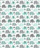 Slantastoffe Baumwollstoff Kinderstoff Elefant Breite 160cm