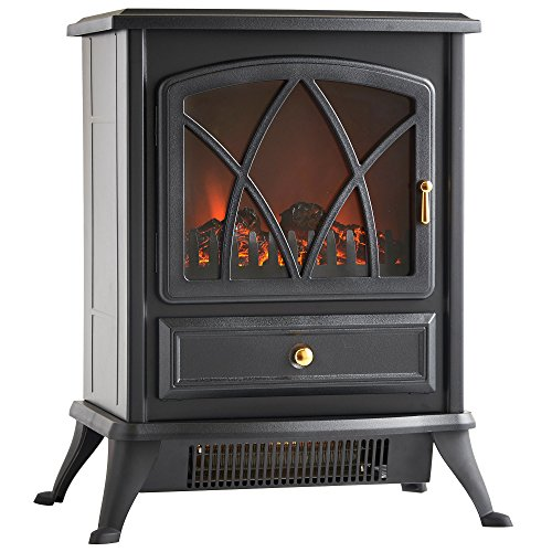 VonHaus Free Standing Electric Stove Heater...