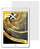 atFolix Panzerfolie kompatibel mit Apple iPad 9,7 2018 Schutzfolie, entspiegelnde & stoßdämpfende FX Folie (2X)