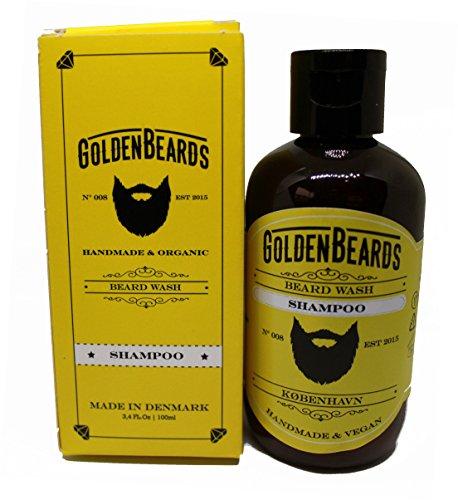 Shampoo per Barba (100ml) Il modo perfetto tutto naturale di cura per la barba - Biologico e Naturale
