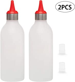 LJSLYJ Mayonnaise Salad Tomato Sauce Bottle Squeeze Type Ketchup Dispenser Kitchen Cooking Tools,red