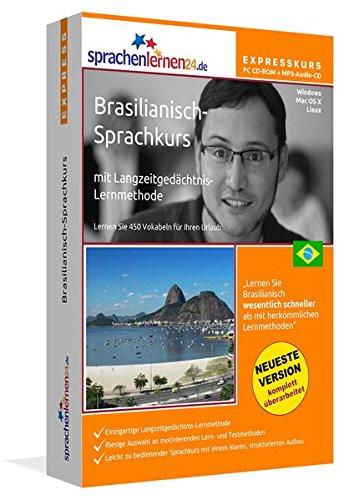 Sprachenlernen24.de Brasilianisch-Express-Sprachkurs PC CD-ROM für Windows/Linux/Mac OS X + MP3-Audio-CD: Werden Sie in wenigen Tagen fit für Ihre ... Sprachkurs in wenigen Tagen fit für die Reise