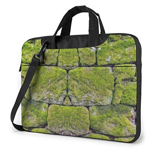 Moss Stone Pavement Unisex Laptop Bag Messenger Shoulder Bag For Computer Briefcase Carrying Sleeve