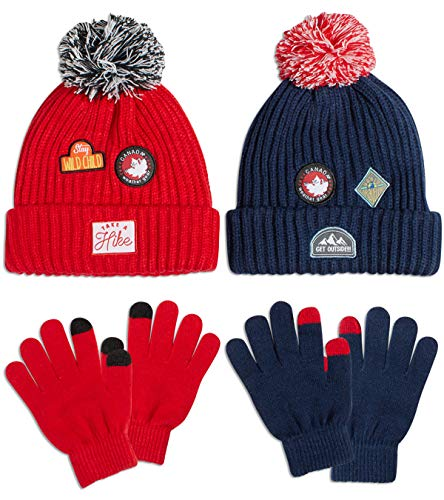 CANADA WEATHER GEAR Boys' Pom Po...