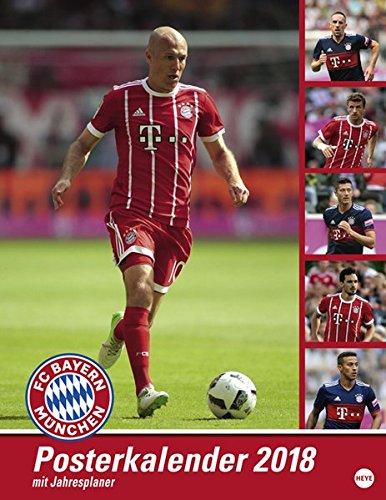 FC Bayern München Posterkalender - Kalender 2018