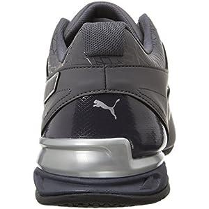 PUMA Men's Tazon 6 Fracture FM Sneaker, Periscope Silver, 10 M US