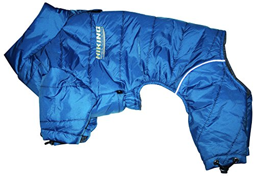 Croci Waterdichte Trainingspak Wandelen voor Honden, 55-58 cm, Blauw