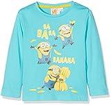 Universal Banana Minions Camiseta, Azul, 6 Años para Niños