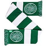 Bufanda oficial del Celtic FC Crest Fans Bar Bufanda (100% acrílico)