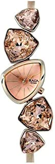TITAN Womens Pink Dial Metallic Analogue Watch - 95095WM01 (Pink_Free Size)