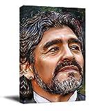 YITUOMO Diego Maradona - Lienzo decorativo para pared (40,6