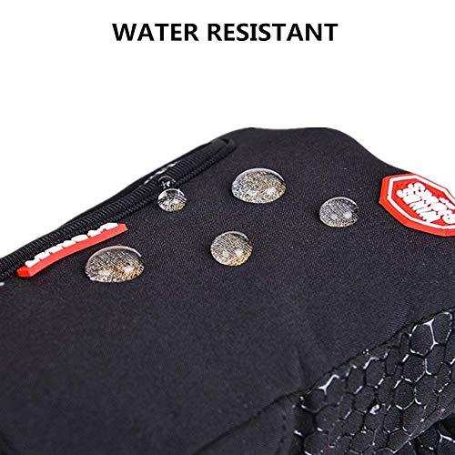 SWAMPLAND Anti-Rutsch Full Finger Fahrradhandschuhe Winddicht Wasserabweisend Touchscreen Handschuhe für Damen und Herren - 4