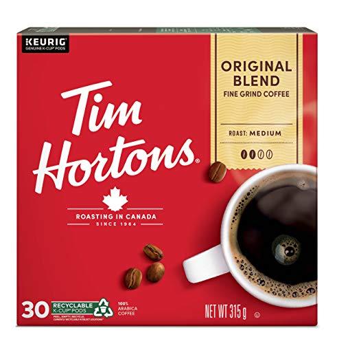 Tim Hortons Single Serve Coffee Original Blend K-Cup Pods for Keurig Coffee...