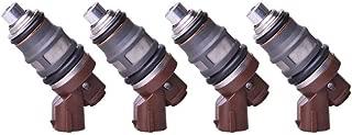 Bernard Bertha 4Pcs Fuel Injectors For Toyota Supra 1JZ-GTE 2JZ-GTE F809W MR2 Celica Supra Turbo OEM 1001-87092 100187092