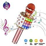 ATOPDREAM Cadeaux pour Fille 4-12 Ans, Karaoke Enfants Jouet Enfant 4-12 Ans Fille Cadeau Enfant 4-12 Ans Fille Anniversaire 4-12 Ans Fille 5 6 7 8 Ans Fille Jouet Cadeau Anniversaire 4-12 Ans Garcon