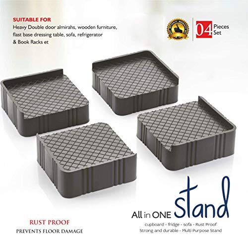 JD Brand Refrigerator Stand, Washing Machine Stand,Furniture Base Stand, Fridge Stands for Single Door and Double Door