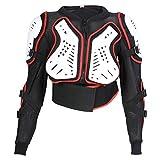 Texpeed Veste avec Protection Dorsale - Enfant - pour Moto/Sport - Toutes Les Tailles
