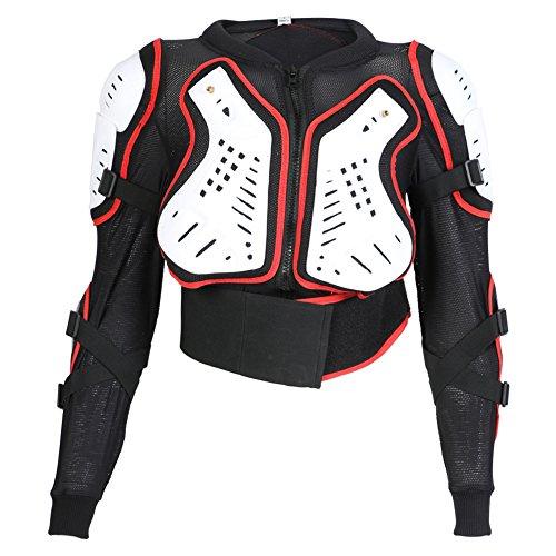 TEXPEED - Kinder Motorradjacke für Motocross Enduro Sport mit Protektoren - 10 Jahre