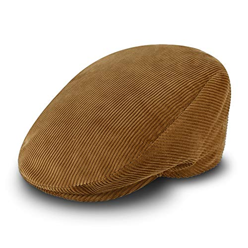 fiebig Berretto in cordone da Uomo e Donna | Cappello in Cotone con Fodera Trapuntata | Berretto Sportivo Fatto in Italia (58-L, Beige)