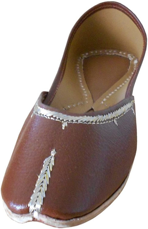 Kalra Creations Women's Traditional Indian Mojari Ethnic shoes Flats