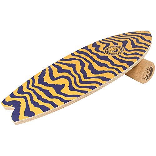 JUCKER HAWAII Balance Board Homerider Ocean Fourtwenty - Balanceboard Set inkl. Korkrolle