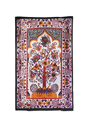 altrado Headshop Batik - Tuch 'Blossom Tree' - 1350x2150mm