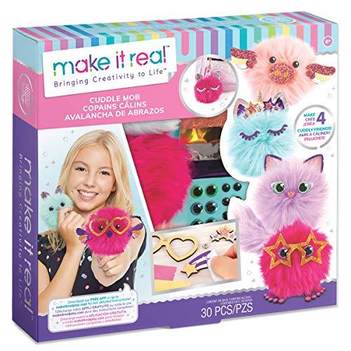 Make It Real 1409 Mini-Pompons, Mehrfarbig
