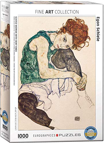 EuroGraphics The Artist's Wife by Egon Schiele Puzzle (1000-Piece)