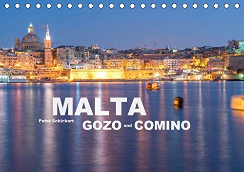 Malta - Gozo und Comino (Tischkalender 2021 DIN A5 quer)