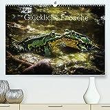 Glückliche Frösche (Premium, hochwertiger DIN A2 Wandkalender 2022, Kunstdruck in Hochglanz)